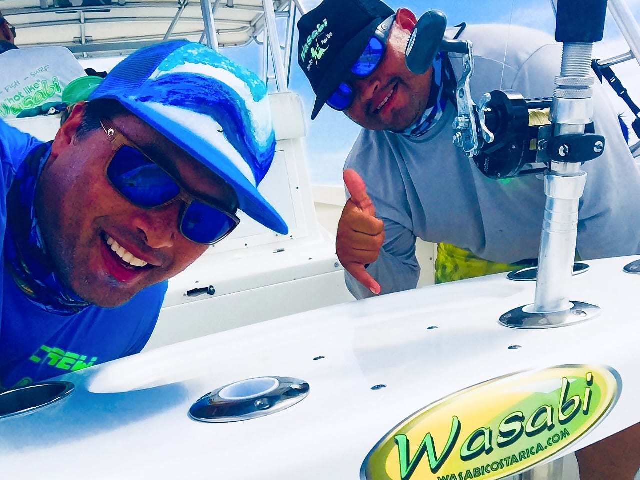 Wasabi Fishing - The Crew